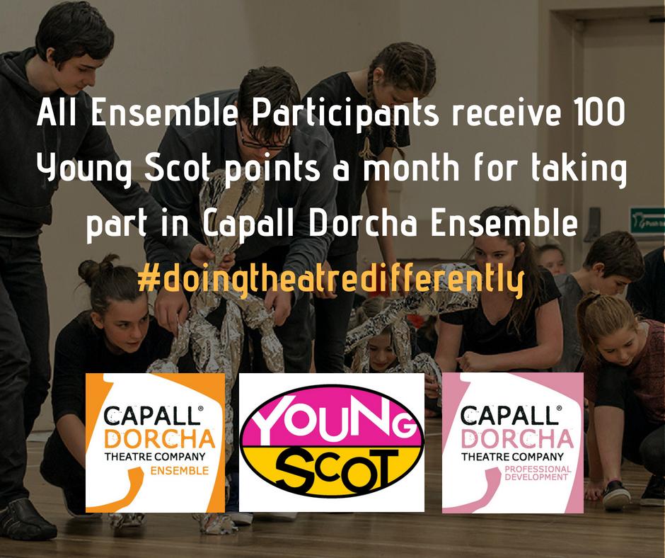Young Scot Rewards + Capall Dorcha Ensemble