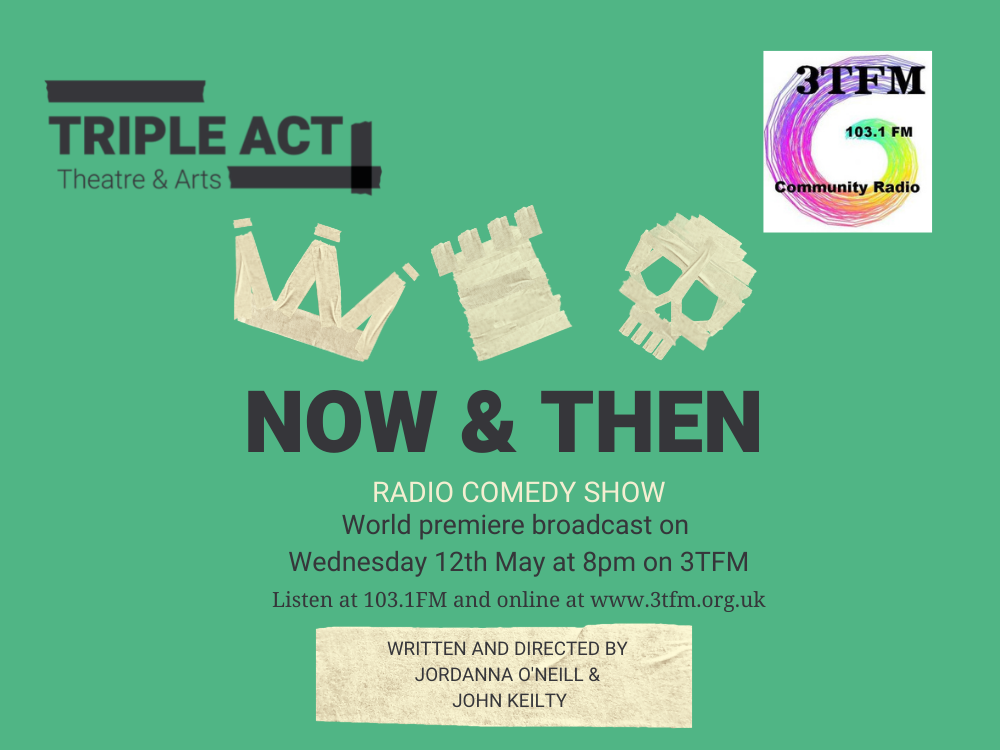 World Premiere of Now & Then Radio Show on 3TFM