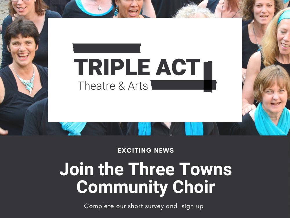 Coming Soon – Three Towns Community Choir